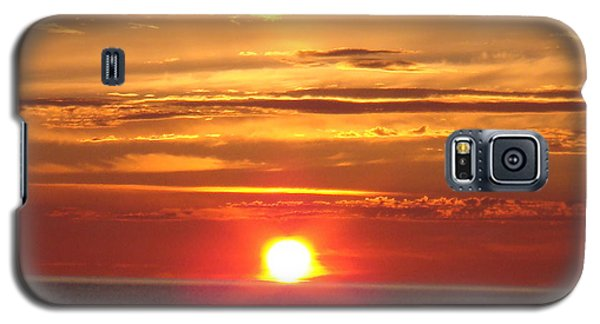 Galaxy S5 Case featuring the photograph Superior Setting by Bonfire Photography