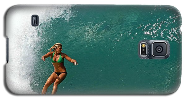Surfer Girl Galaxy S5 Case by Paul Topp