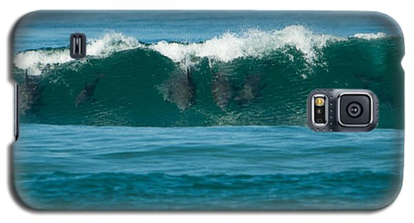 Surfing Dolphins 2 Galaxy S5 Case