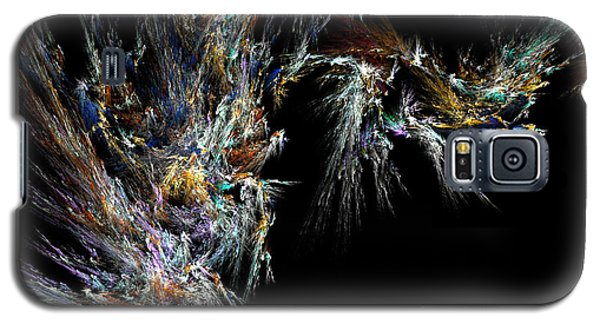 Galaxy S5 Case featuring the digital art Surfing Waves by Ester  Rogers