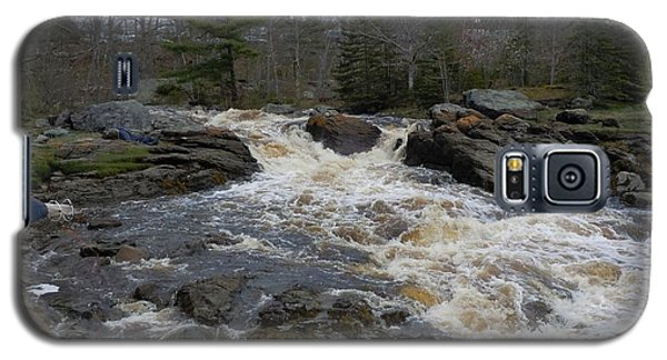 Galaxy S5 Case featuring the photograph Surry Falls by Francine Frank