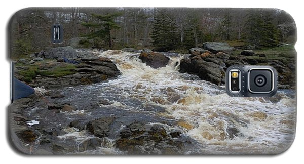 Surry Falls Galaxy S5 Case by Francine Frank