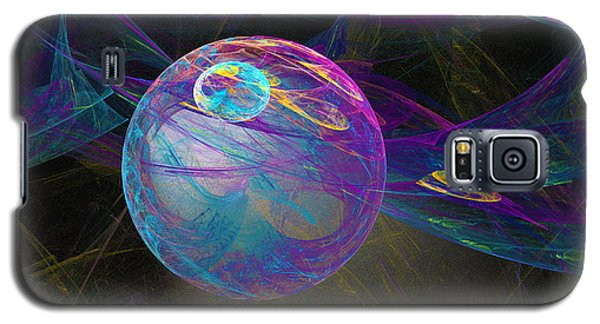 Galaxy S5 Case featuring the digital art Suspension by Victoria Harrington