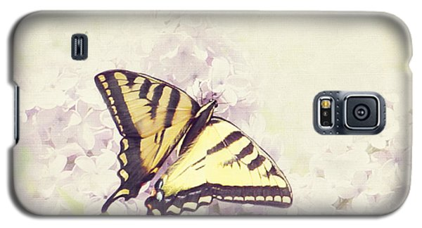 Swallowtail On Lilac Galaxy S5 Case