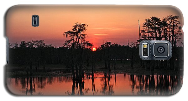 Galaxy S5 Case featuring the photograph Swamp Sunset by Luana K Perez