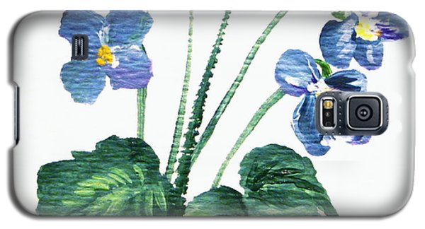 Sweet Violets Galaxy S5 Case