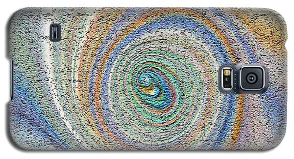 Swirling Peacock Feather Galaxy S5 Case
