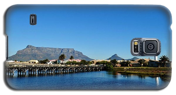 Galaxy S5 Case featuring the photograph Table Mountain by Werner Lehmann