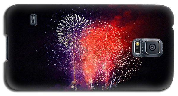 Galaxy S5 Case featuring the photograph Tahoe Fireworks. by Mitch Shindelbower