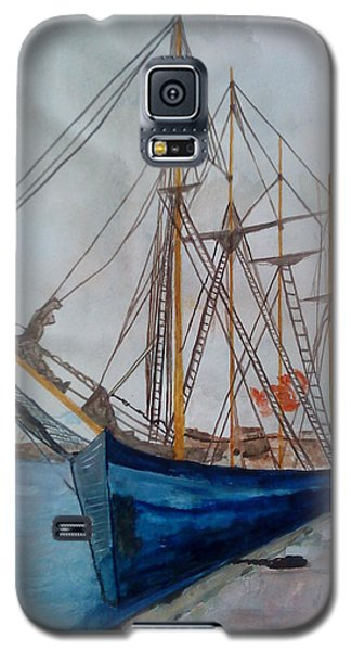 Tall Pirate Ship Galaxy S5 Case