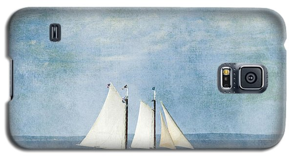 Galaxy S5 Case featuring the photograph Tall Ship by Alana Ranney
