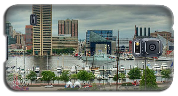 Tall Ships At Baltimore Inner Harbor Galaxy S5 Case