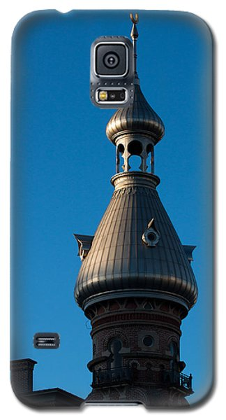 Galaxy S5 Case featuring the photograph Tampa Bay Hotel Minaret by Ed Gleichman