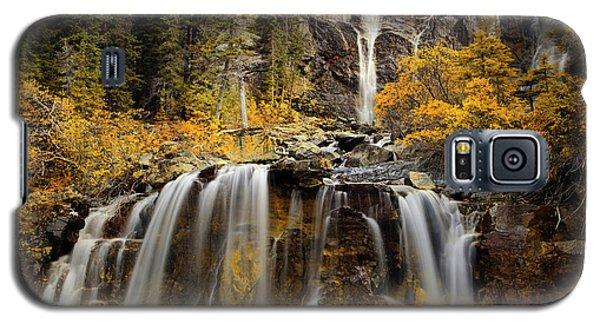Tangle Falls, Jasper National Park Galaxy S5 Case