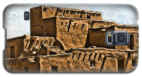 Taos Pueblo Galaxy S5 Case by John Hansen