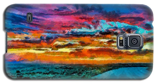 Taos Sunset Iv Wc Galaxy S5 Case
