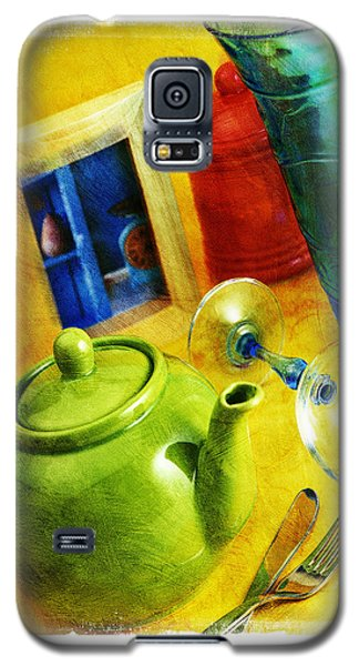 Tea Pot Galaxy S5 Case