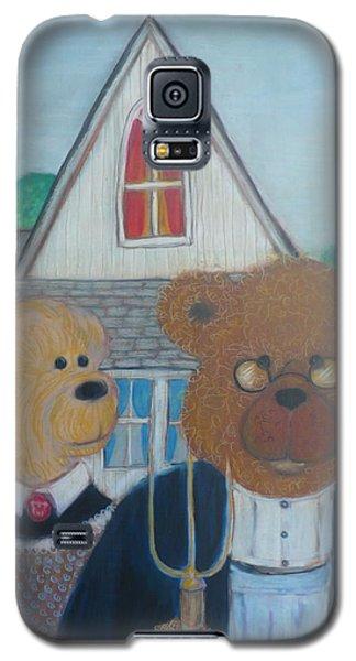 Teddy Bear Gothic Galaxy S5 Case