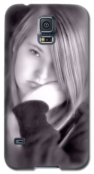 Galaxy S5 Case featuring the photograph Teen Years by Katie Wing Vigil