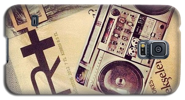 Music Galaxy S5 Case - Telefona Kilif Aldiiim :) by Banu Beysungu