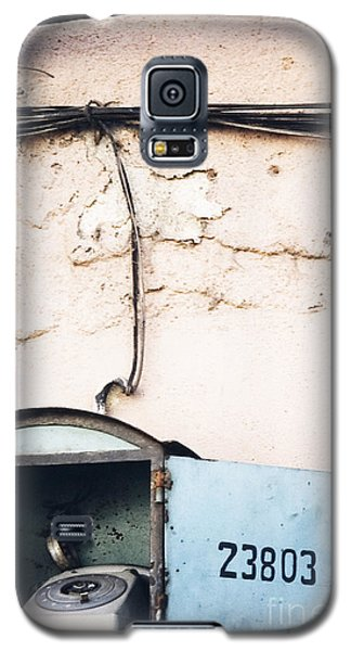 Galaxy S5 Case featuring the photograph Telephone Booth by Agnieszka Kubica