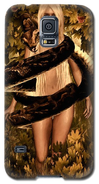Temptation And Fall Galaxy S5 Case by Lourry Legarde