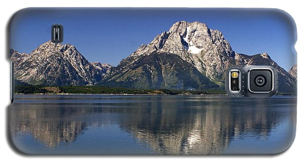 Galaxy S5 Case featuring the photograph Teton Panoramic View by Marty Koch