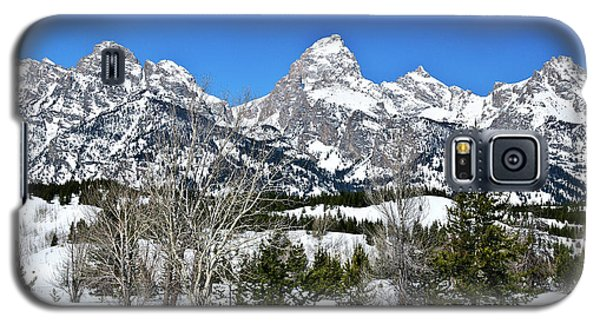 Teton Winter Landscape Galaxy S5 Case