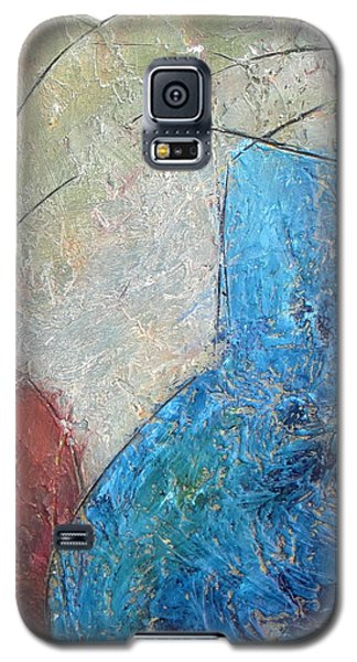 Textured Canvas Urns Galaxy S5 Case