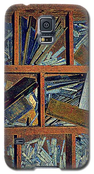 textures III Galaxy S5 Case