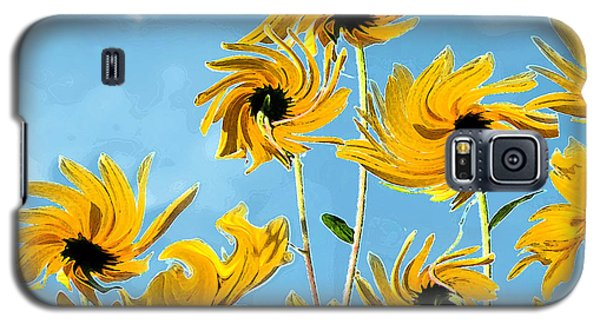 Galaxy S5 Case featuring the photograph Thank You Vincent by Deborah Smith
