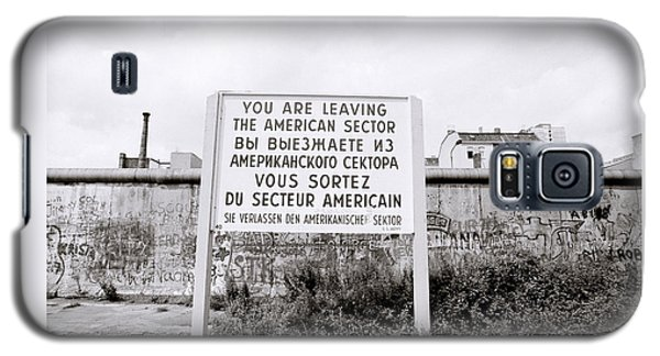 Berlin Wall American Sector Galaxy S5 Case