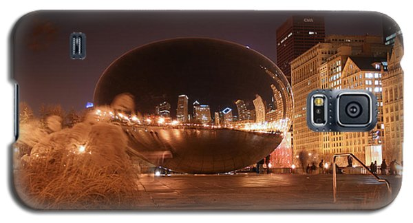 The Bean On A Winter Night Galaxy S5 Case