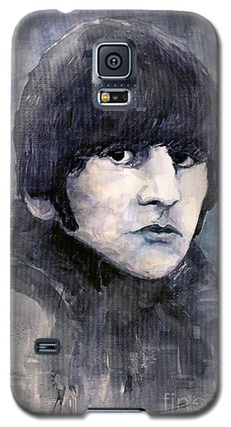 Musicians Galaxy S5 Case - The Beatles Ringo Starr by Yuriy Shevchuk