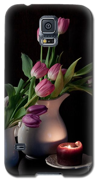 Galaxy S5 Case featuring the photograph The Beauty Of Tulips by Sherry Hallemeier
