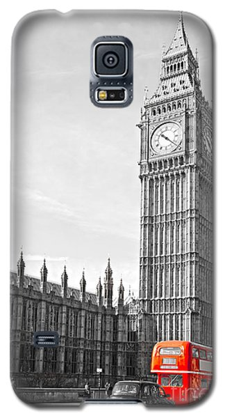 Galaxy S5 Case featuring the photograph The Big Ben - London by Luciano Mortula