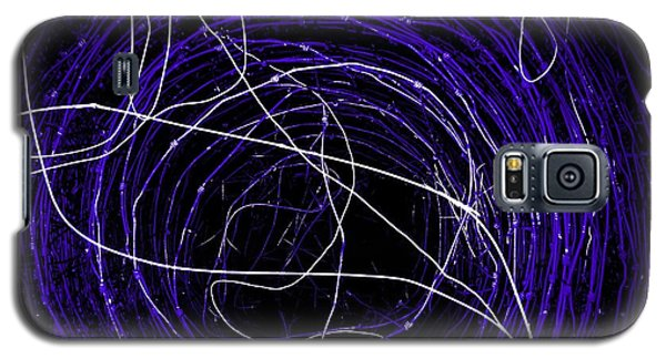 Galaxy S5 Case featuring the photograph The Blue Barb by Amy Sorrell