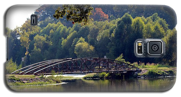 Galaxy S5 Case featuring the photograph The Bridge by Kathy  White
