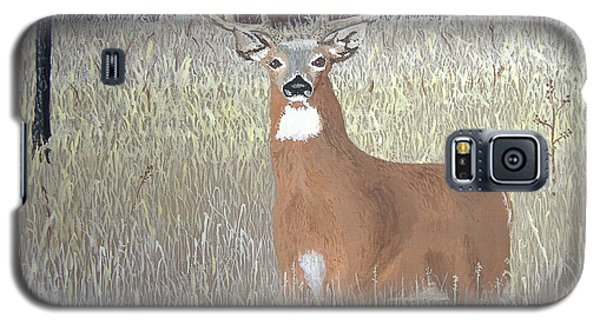 Galaxy S5 Case featuring the painting The Buck Stops Here by Norm Starks