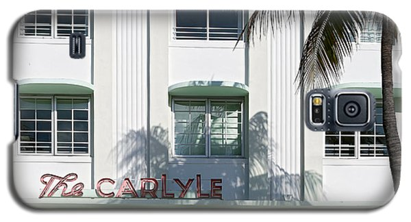 The Carlyle Hotel 2. Miami. Fl. Usa Galaxy S5 Case by Juan Carlos Ferro Duque