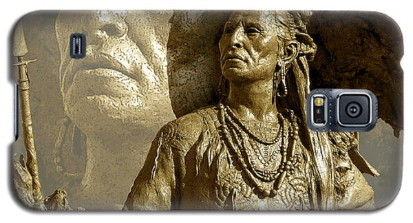 Galaxy S5 Case featuring the photograph The Chief by Ginny Schmidt