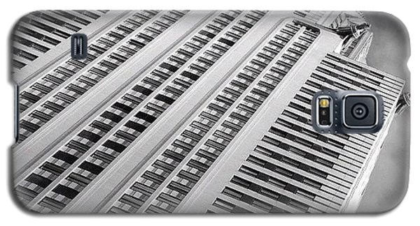 Skylines Galaxy S5 Case - The Chrysler Building Ny  by Joel Lopez