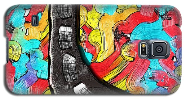 The Color Highway Galaxy S5 Case by Alec Drake