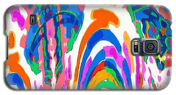 The Colors Fountain Galaxy S5 Case