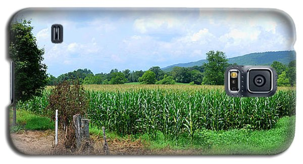 Galaxy S5 Case featuring the photograph The Corn Field by Paul Mashburn