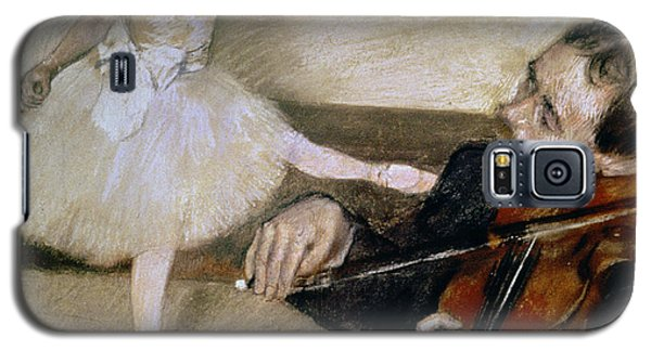 Violin Galaxy S5 Case - The Dance Lesson by Edgar Degas