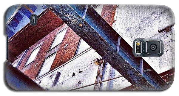 Professional Galaxy S5 Case - The Dark Side Of #ipswich #waterfront by Joey El Burro