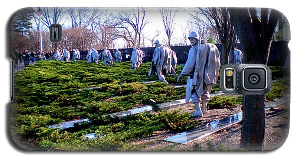 Galaxy S5 Case featuring the photograph The Dc War Memorials Washington  D.c. by Danielle  Parent