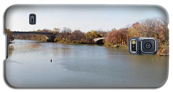 Galaxy S5 Case featuring the photograph The Erie Canal Crossing The Genesee River by William Norton