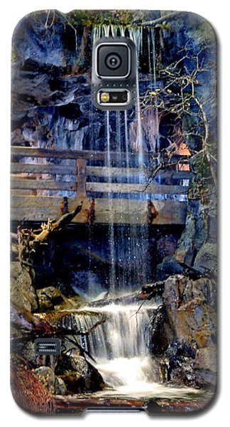 Galaxy S5 Case featuring the photograph The Falls by Deena Stoddard